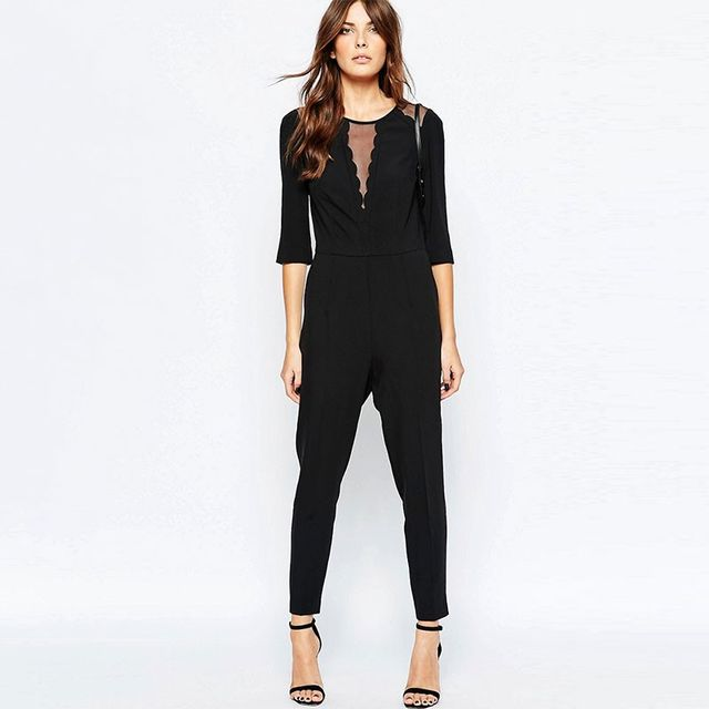 Sisley Scalloped Jumpsuit