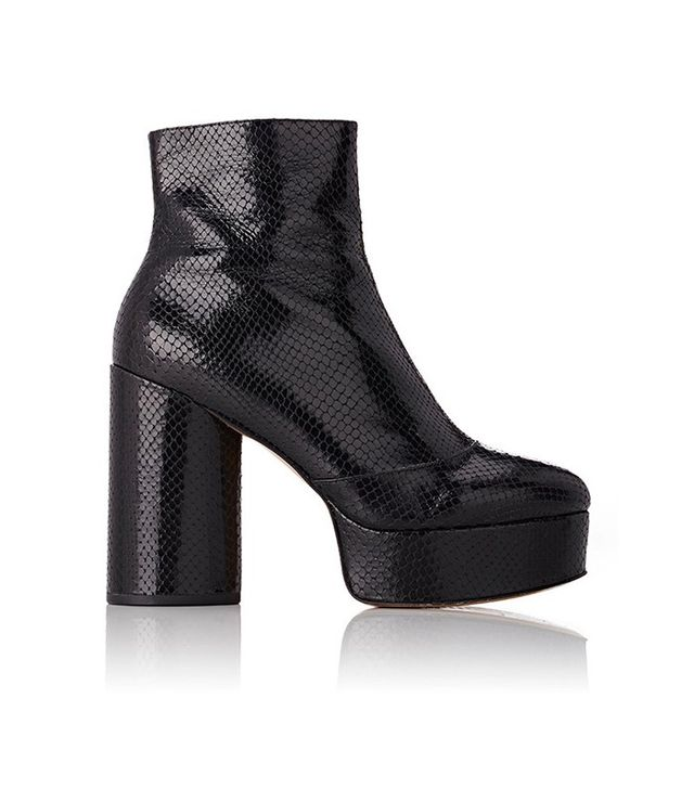 Marc Jacobs Amber Platform Ankle Boots