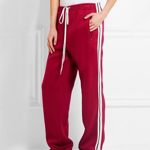 Jersey Wide-Leg Sweatpants