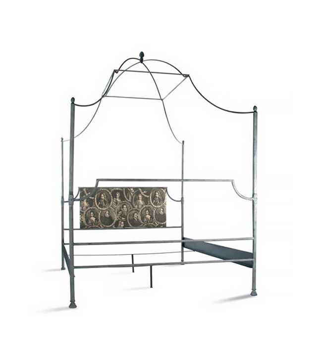 Kathy Kuo Home French Canopy Bed