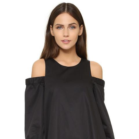 Cutout Shoulder Dress