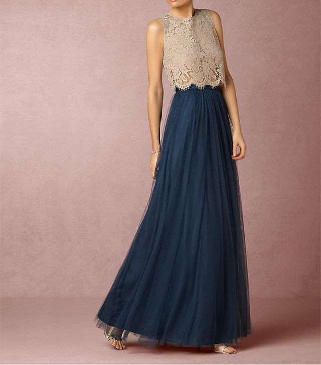 BHLDN Cleo Top and Louise Tulle Skirt