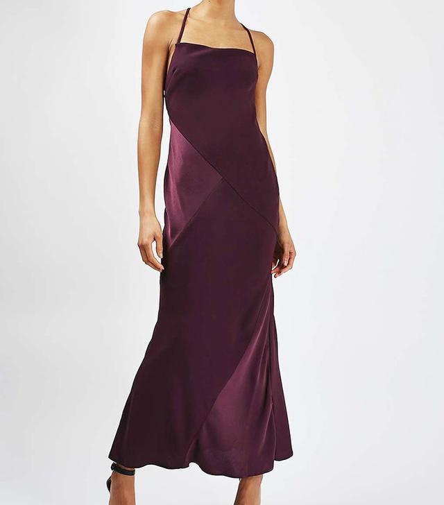 Topshop Cross-Strap Maxi Dress