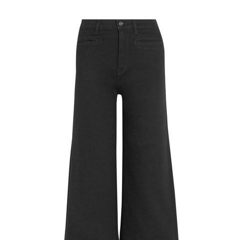 Rayner Cropped High-Rise Wide-Leg Jeans
