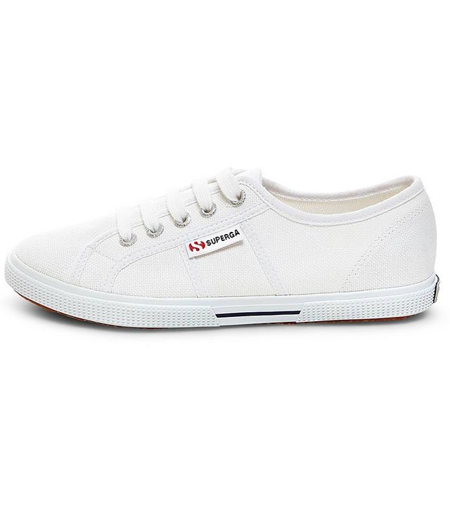 Superga x Target Canvas Low Top Sneakers in White
