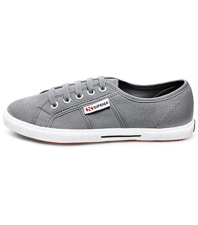 Superga x Target Canvas Low Top Sneakers in Grey