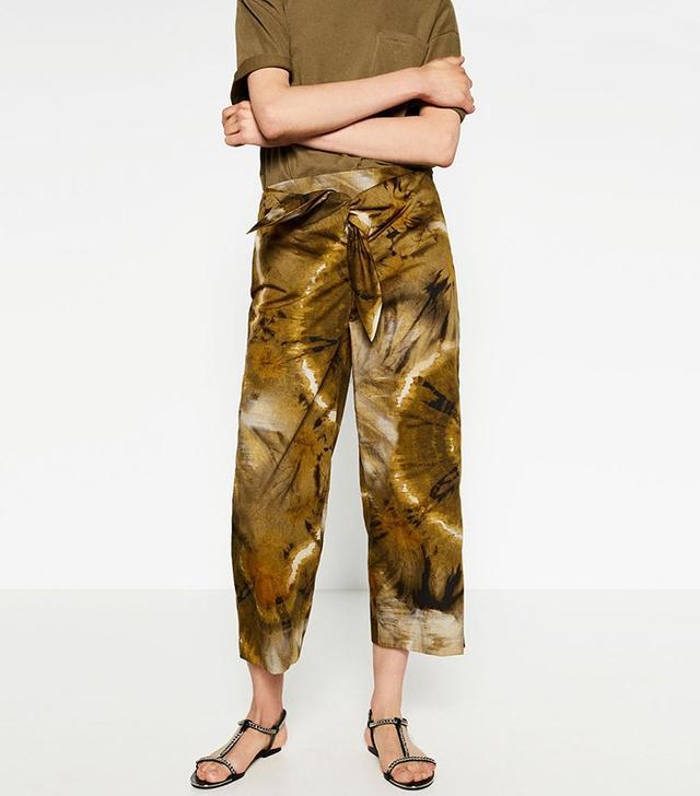 Zara Tie-Dye Trousers