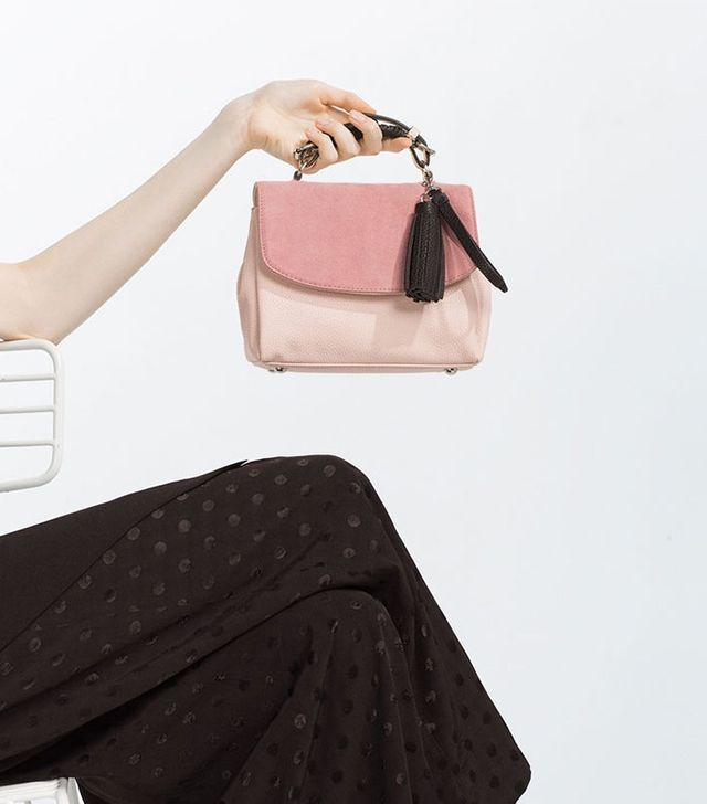 Zara Contrast City Bag