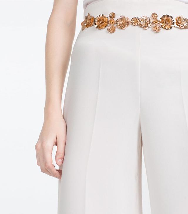 Zara Gem-Style Belt