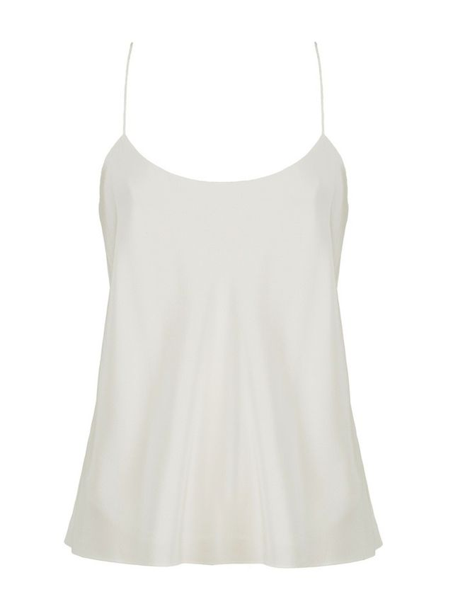 Tibi Kate Silk Bias Cami
