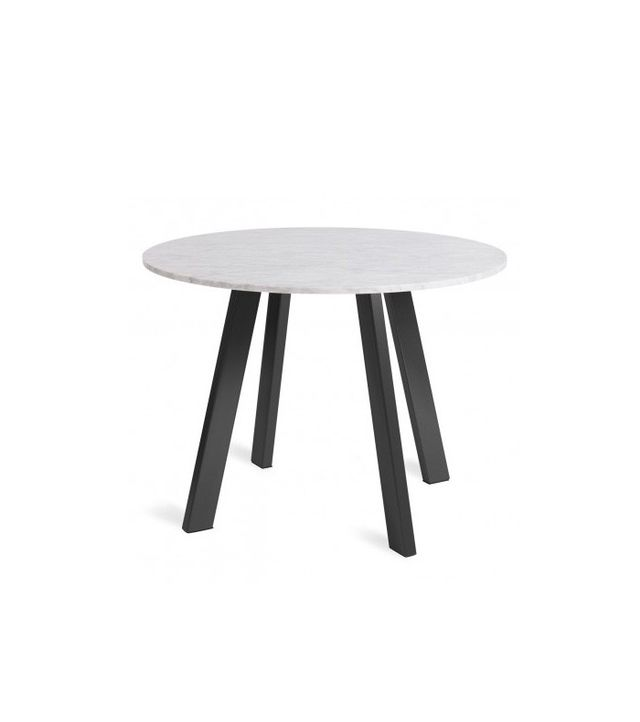 Blu Dot Right Round Marble Dining Table
