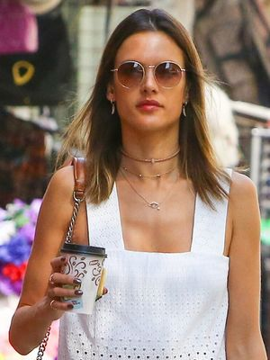 Alessandra Ambrosio's Perfect Eyelet Top Is on Major Sale