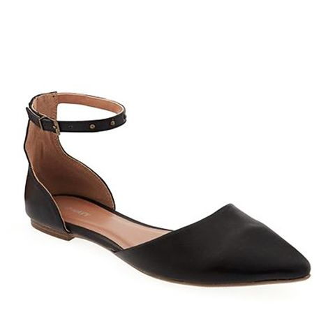 Ankle-Strap D'Orsay Flats