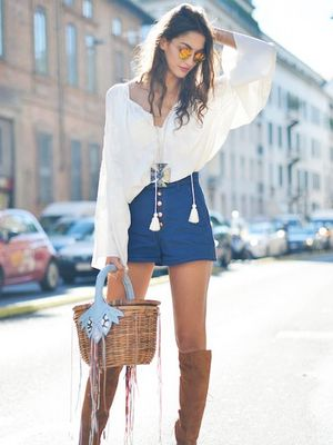 How to Wear Shorts and Look Effortlessly Chic