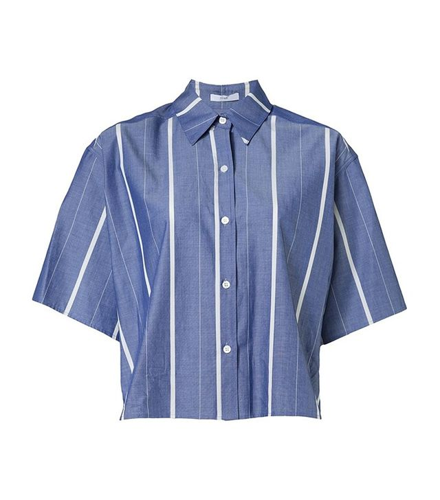 The Webster Tome Boxy Striped Shirt