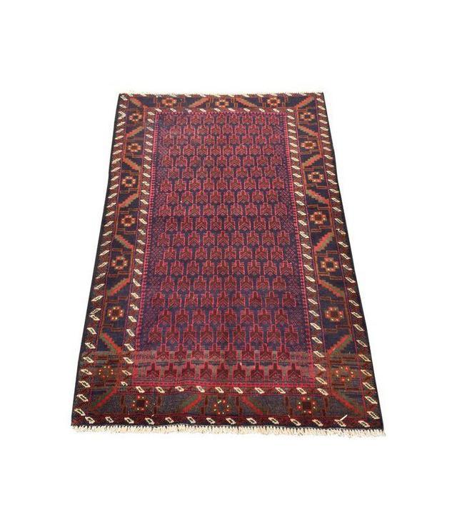Red Baluchi Persian Rug