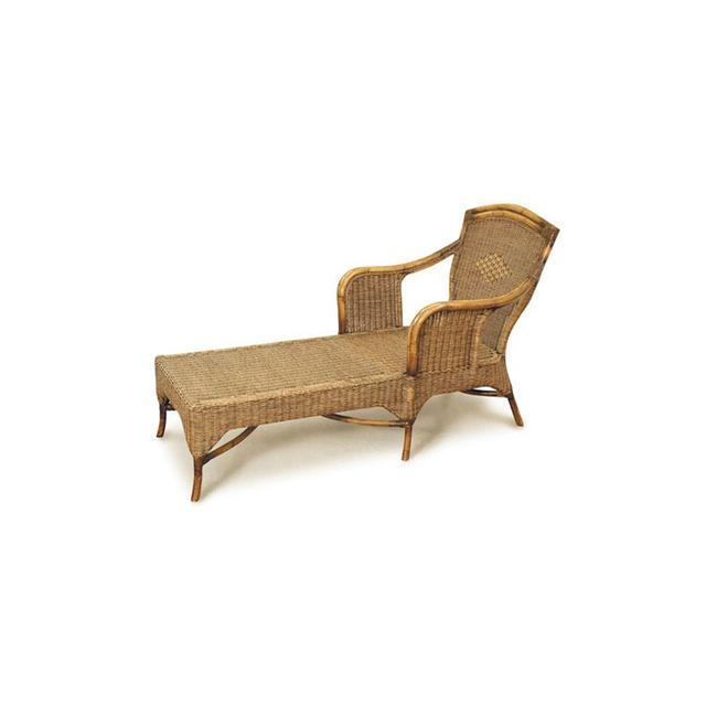 Cane Wicker Industries Bermuda Chaise Lounge