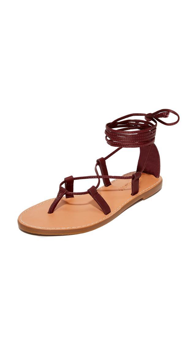 Boardwalk Lace Up Gladiator Sandals