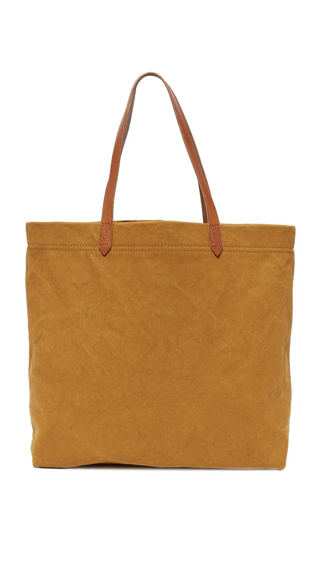 Canvas Transport Tote