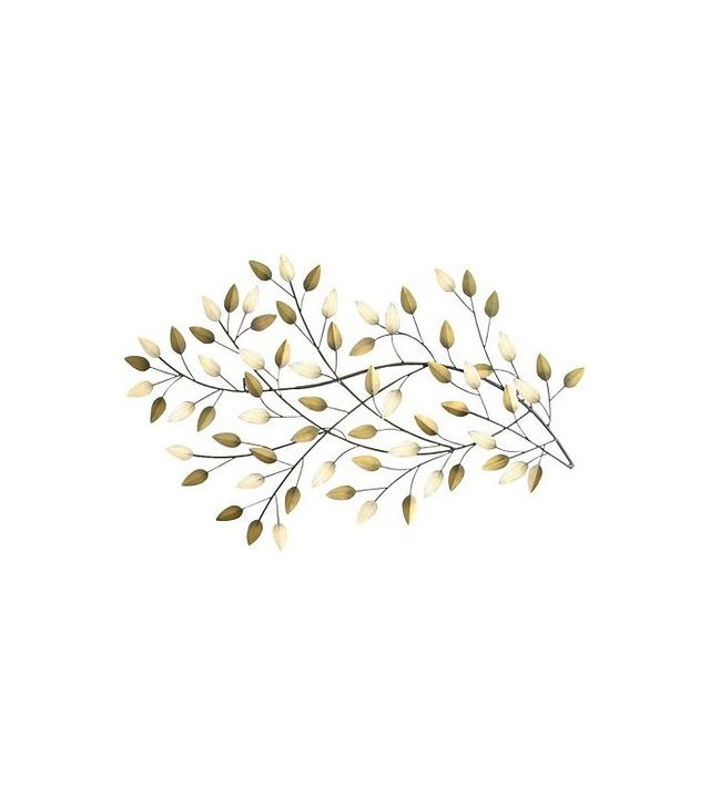 Stratton Home Décor Blowing Leaves Metal Wall Art