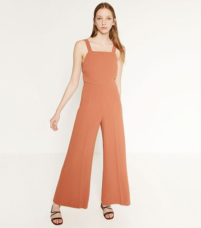 Zara Jumpsuit With Side Print