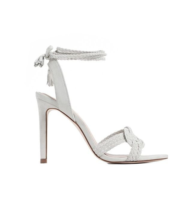 Zara Leather Knotted Sandals