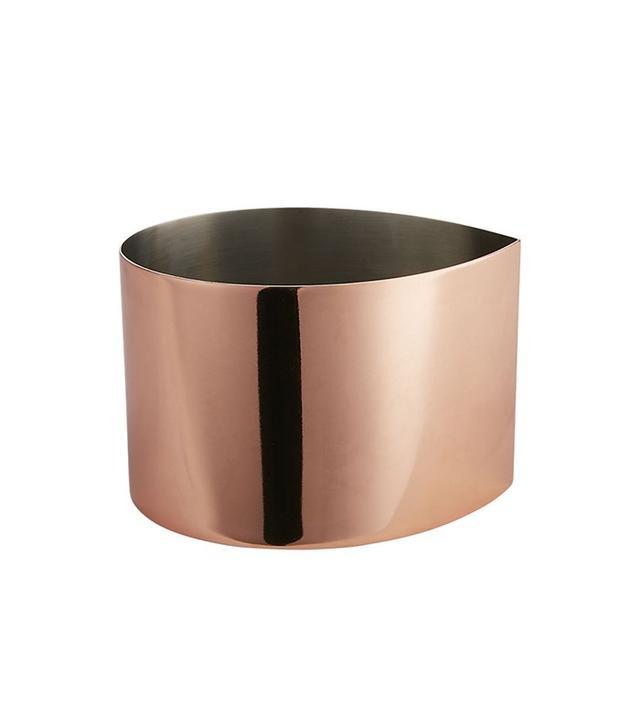 CB2 Drop Copper Bowl