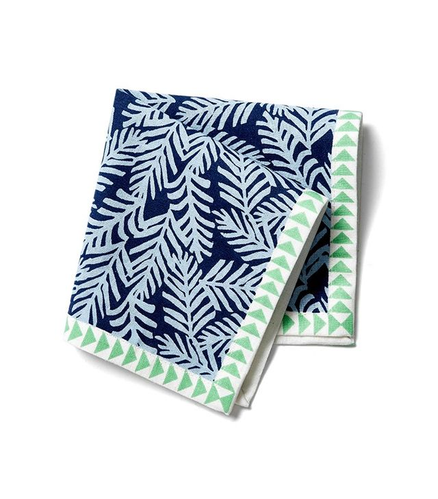 One Kings Lane Palm Frond Cocktail Napkins