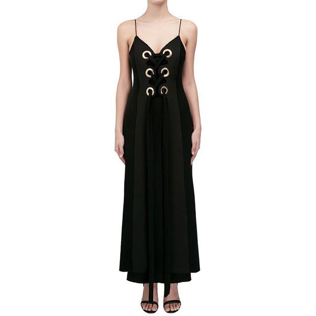 Ellery Delorean Lace Up Dress