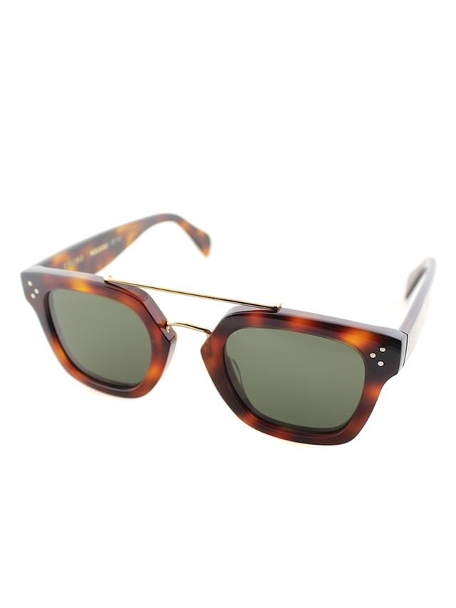 Céline Square Plastic Sunglasses