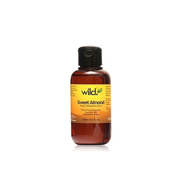 Wild Products Sweet Almond Oil (Cold Pressed)