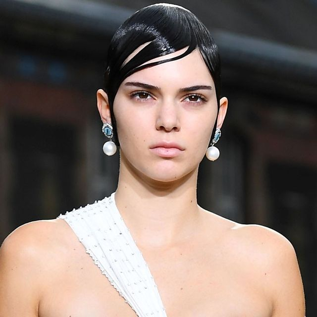 Kendall Jenner Just Wore a Wedding-Worthy Look on the Runway