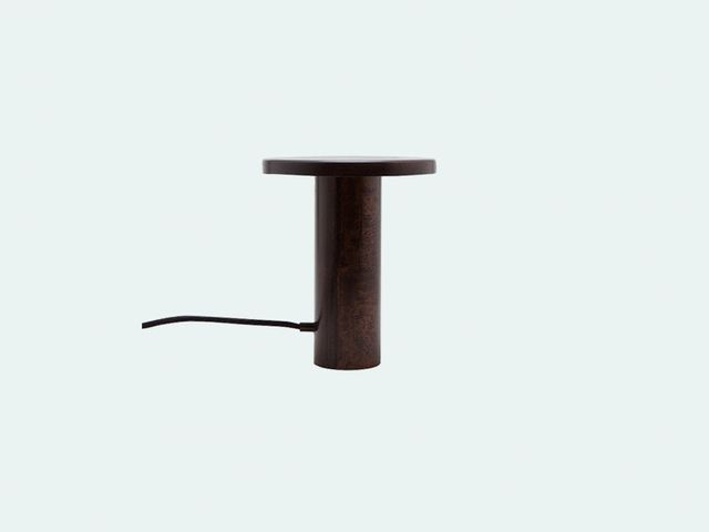 Lee West Objects Desk Lamp in Patinated