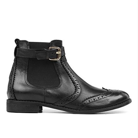 Slow Leather Ankle Boots
