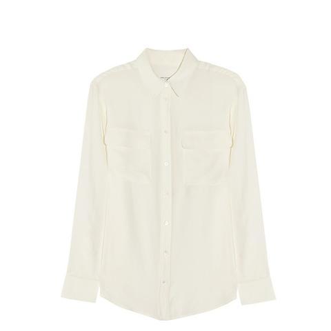 Signature Washed Silk Shirt