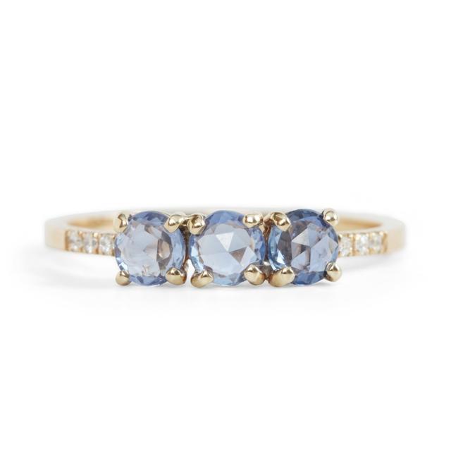 Jennie Kwon Painter's Blue Sapphire Ring