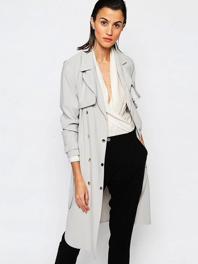 Warehouse Premium Soft Trench