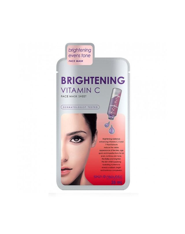 Skin Republic Brightening Vitamin C Face Mask Sheet