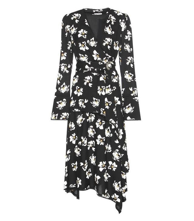 Proenza Schouler Printed Crepe Dress