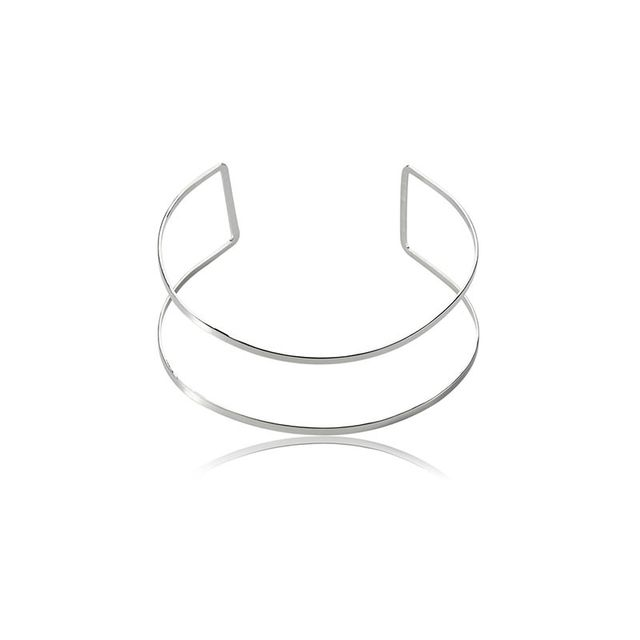 The Dark Horse White Label Double Line Choker