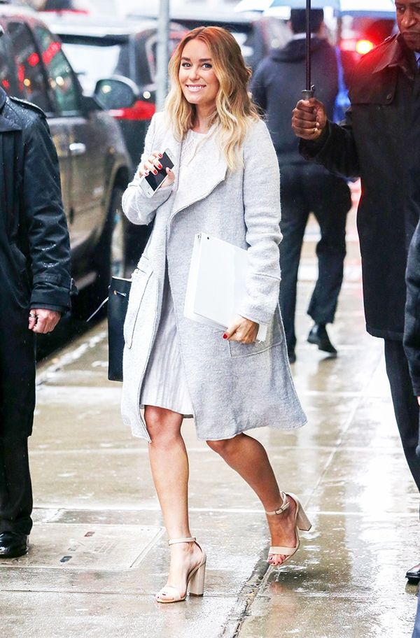 Lauren Conrad's go-to section at Zara: Outerwear.