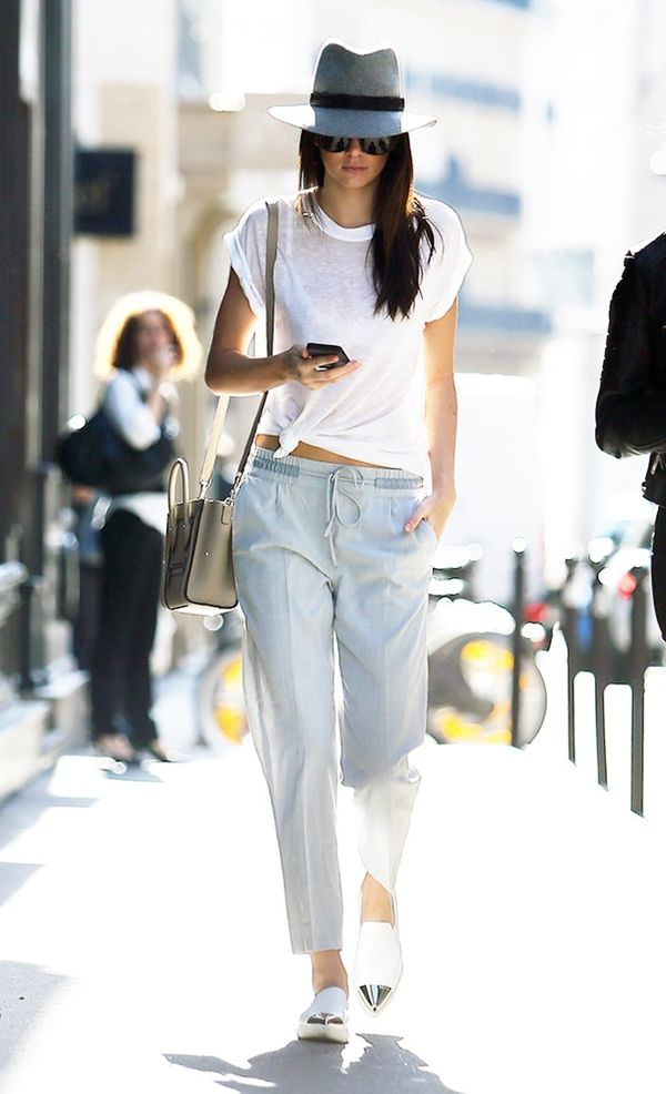 Kendall Jenner's go-to section at Zara: trousers.