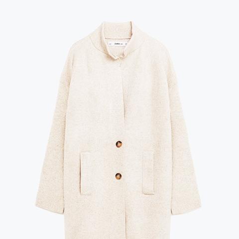 Textured Weave Coat