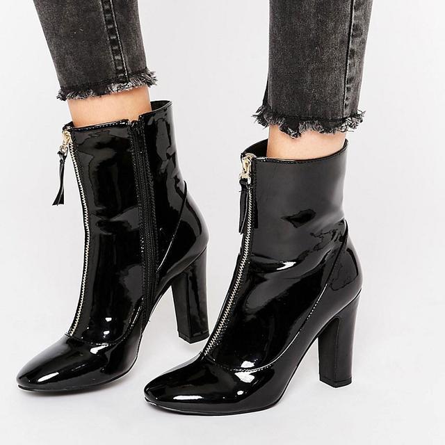 Public Desire Alexa Patent Boots