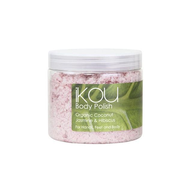 iKOU Organic Jasmine, Hibiscus and Coconut Body Polish
