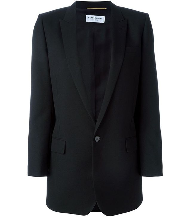 Saint Laurent Boxy Fit Blazer