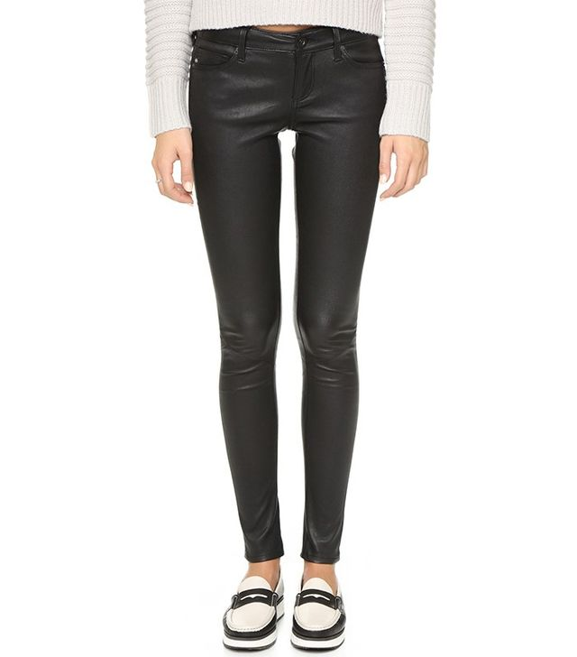 AG Skinny Leather Pants