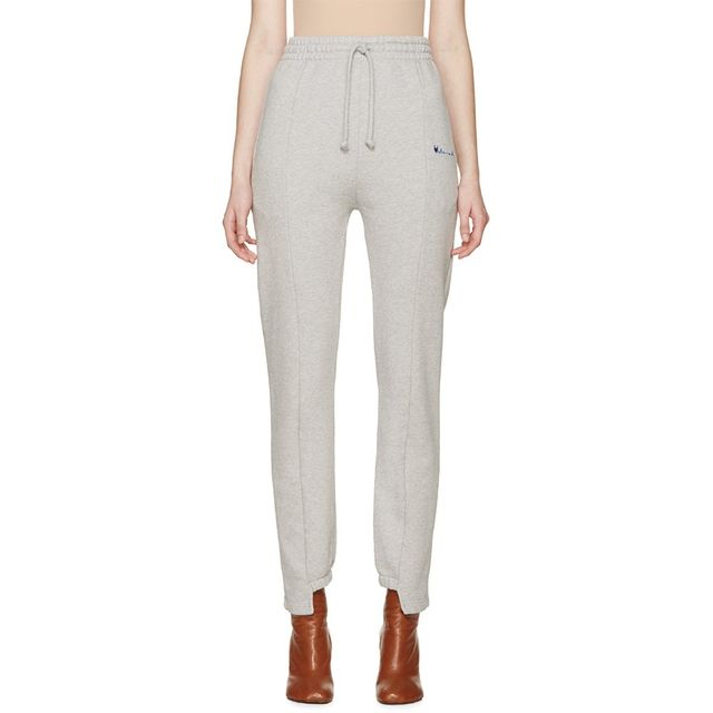 Vetements Grey Logo Lounge Pants