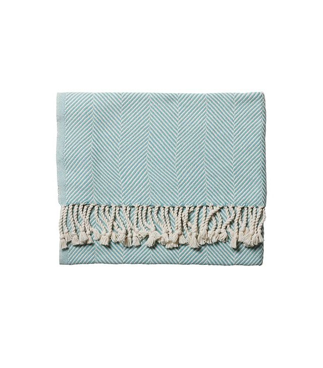 Serena & Lily Brahms Mount Herringbone Throw