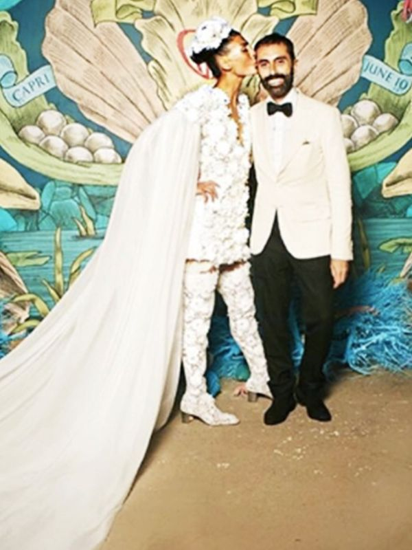 Most Stylish Weddings on Instagram: Giovanna Battaglia